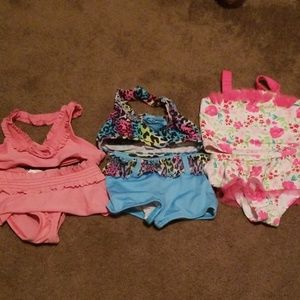 Other - 3t girls 2 piece bathing suit lot